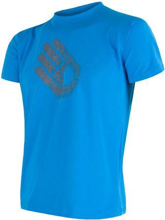Sensor moška majica Coolmax Fresh Hand, modra, XL