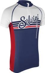 Silvini kolesarska majica Tanaro CD812, modra/rdeča