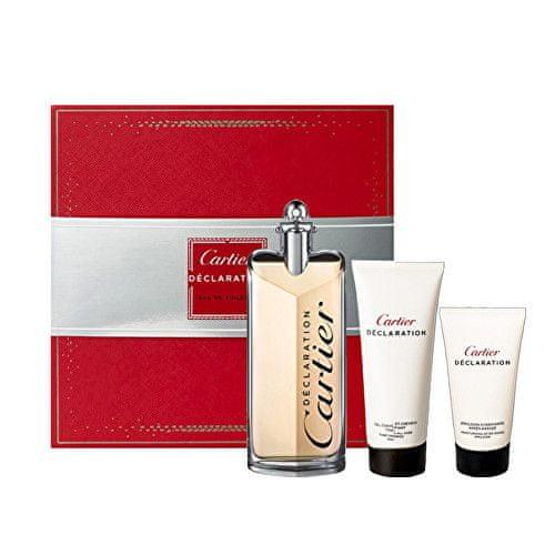 Cartier Déclaration - EDT 100 ml + sprchový gel 100 ml + balzám po holení 50 ml