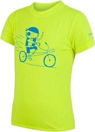 Sensor otroška majica Coolmax Fresh Pirate, rumena, 120