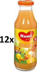 Hami Nápoj jablko, mrkev, banán - 12x300 ml