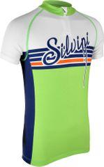 Silvini kolesarska majica Tanaro CD812, zelena/modra