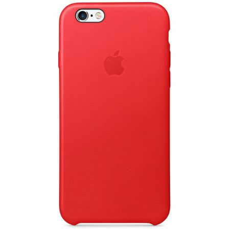 Apple iPhone 6s Leather Case (PRODUCT)RED (mkxx2zm/a) outlet