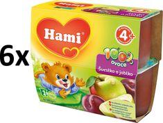 Hami 100% ovoce Jablko, švestka - 6 x (4x100g)