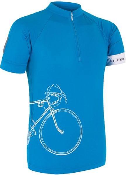 Sensor Cyklo Tour pánský Dres kr.ruk. modrá