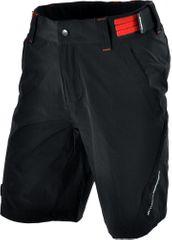 Silvini moške hlače Elvo MP809, črne/rdeče