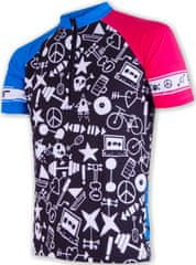 Sensor moška majica Cyklo, črna