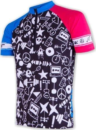Sensor moška majica Cyklo, črna, M