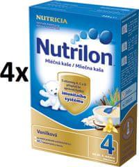 Nutrilon Mliečna kaša vanilková - 4 x 225g