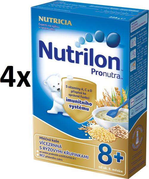 Nutrilon Mléčná kaše vícezrnná - 4 x 225g