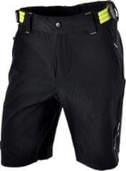 Silvini moške hlače Elvo MP809, črna/rumena