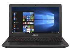 Asus prenosnik FX553VD-FY371T i7-7700HQ/16GB/256+1TB/15,6FHD/GTX1050/W10 (90NB0DW4-M05140)