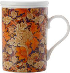 Maxwell & Williams skodelica s porcelanastim cedilom 350 ml Acanthus