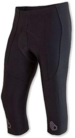Sensor moške hlače Cyklo Race, 3/4, črne, L
