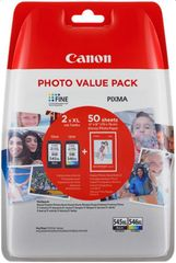 CANON PG-545 XL/CL-546 XL Patron + 50x GP-501 Fotópapír