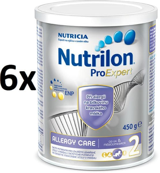 Nutrilon 2 Allergy care - 6 x 450g