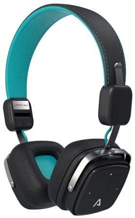 LAMAX Beat Elite E-1 bluetooth vezeték nélküli fejhallgató, Fekete/Kék