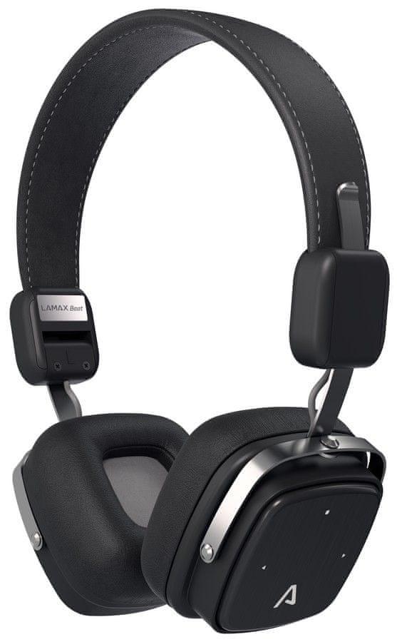 LAMAX Beat Elite E-1 bezdrátová sluchátka, černá