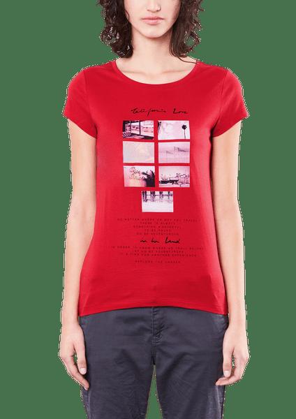 s.Oliver dámské tričko L červená