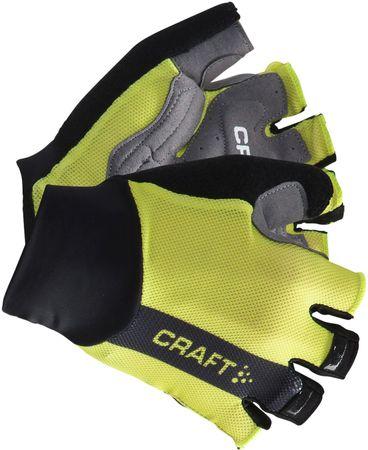 Craft kolesarske rokavice Puncheur, zelene, XS