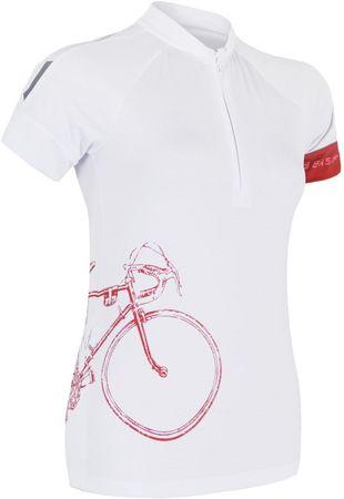 Sensor Damska koszulka rowerowa Cyklo Tour White