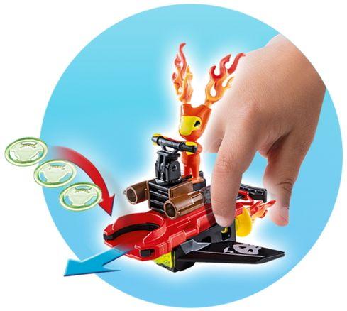 Playmobil 6832 Sparky z zaganjalnikom