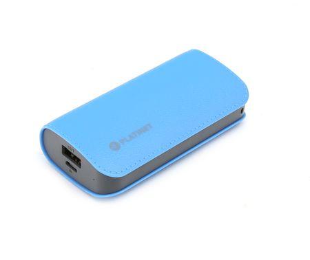 Platinet prenosna baterija Powerbank, 5.200mAh, modra
