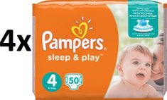 Pampers Pleny Sleep&Play 4 Maxi - 200 ks