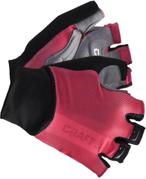 Craft Cyklorukavice Puncheur Růžová S