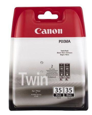 Canon PGI-35BK - 2 pack (1509B012), černá