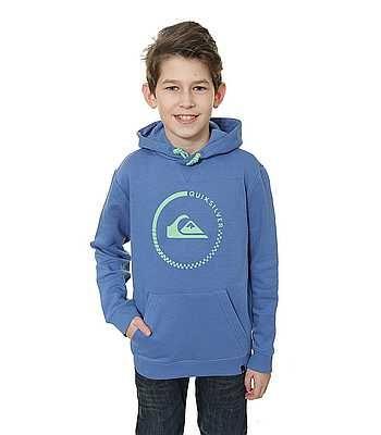 Quiksilver otroški pulover Big Logo Hood Youth B, moder, S/10