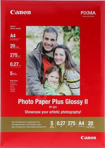Canon PP-201, A3 fotopapír lesklý, 20ks, 275g/m
