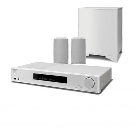 Onkyo zvočniški sistem 2.1 LS5200 bela