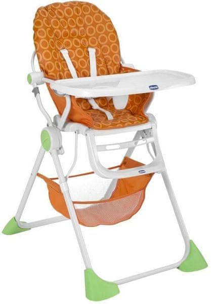 Chicco Jídelní židlička Pocket Lunch, Mango