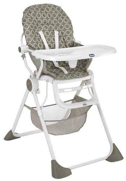 Chicco Jídelní židlička Pocket Lunch, Sand