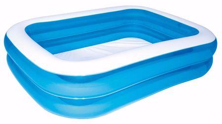 Bestway družinski bazen Modri kvadrat