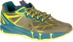 Merrell pohodniški čevlji Agility Peak Flex, zeleni