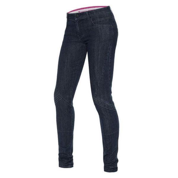 Dainese kalhoty (jeans) dámské JESSVILLE SKINNY LADY vel.26 denim, Kevlar