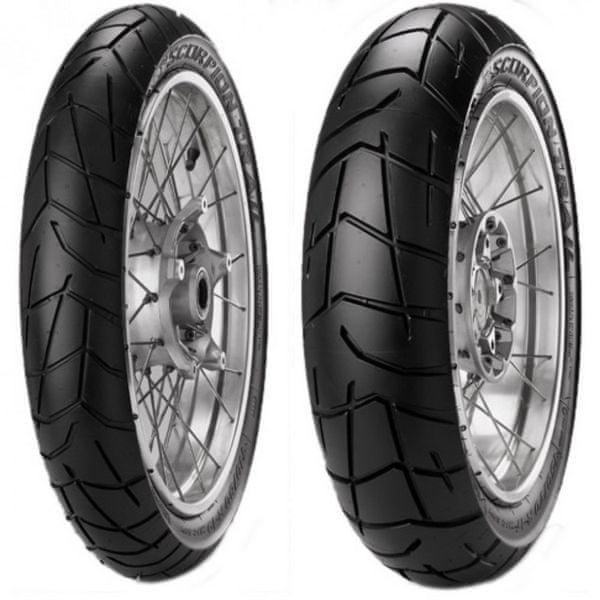Pirelli scorpion Trail set 120/70 TL 58W + 160/60 TL 69W ZR 17 DOTXX13