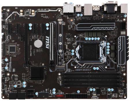MSI osnovna plošča Z270-A PRO, LGA1151, ATX, DDR4