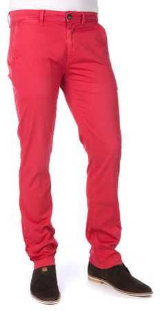 Pepe Jeans moške hlače Sloane 36/32 rdeča