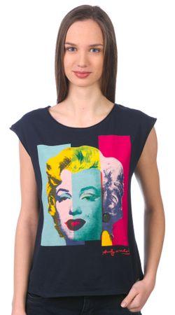 Pepe Jeans koszulka bez rękawów damska Monroe S ciemnoniebieski