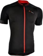 Silvini moška kolesarska majica Ceno MD1000, črno-rdeča