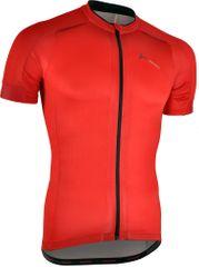 Silvini moška kolesarska majica Ceno MD1000, rdeče-črna