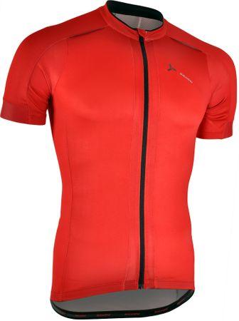 Silvini moška kolesarska majica Ceno MD1000, rdeče-črna, 3XL