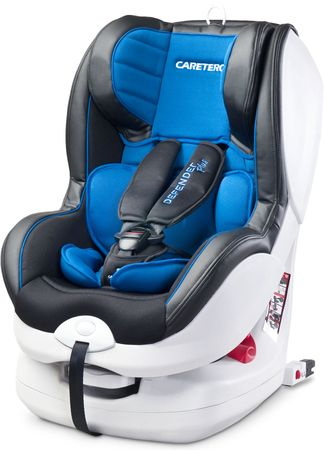 Caretero Fotelik Defender Plus 9-18 kg KG ISOFIX, Blue