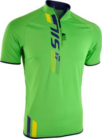 Silvini moška kolesarska in MTB majica Turano MD1013, zelena, 4XL