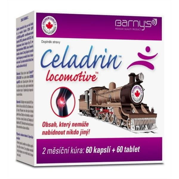 Barny´s Celadrin Locomotive 60 kapslí + 60 tablet