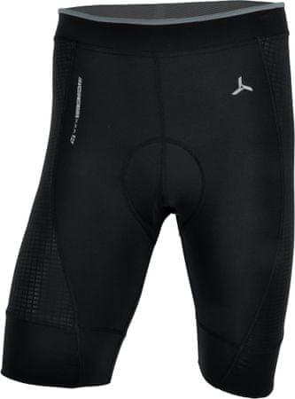Silvini moške kolesarske hlače Fortore MP 1003, kratke, črne, XL