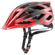 Uvex kolesarska čelada I-Vo Cc (2017), rdeča
